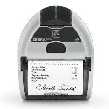 Zebra iMZ320 mobil címkenyomtató